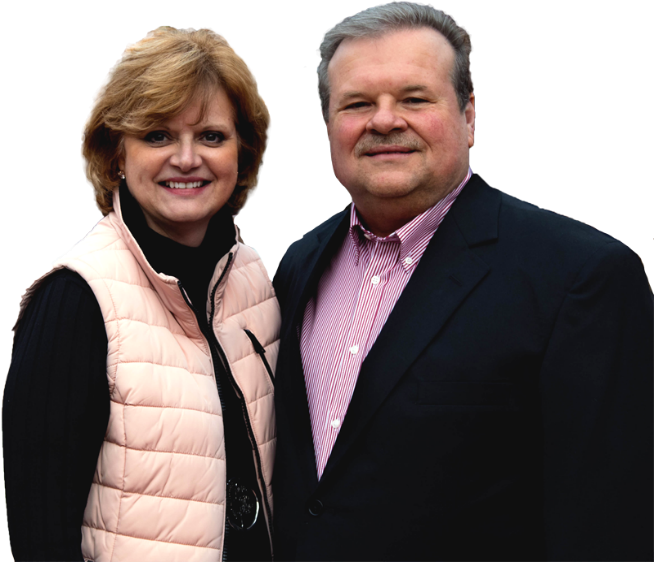 Meet Your Hosts -- David & Lorraine Cox -- Pecan Terrace Inn -- Bed and Breakfast